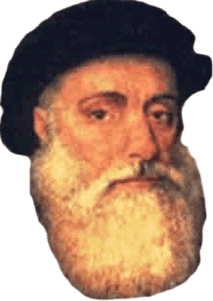 Vasco da Gama (1465 – 1524) was a Portuguese explorer who became the first European to reach India by sea.